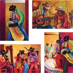 All That Jazz - blank note cards - IT-13