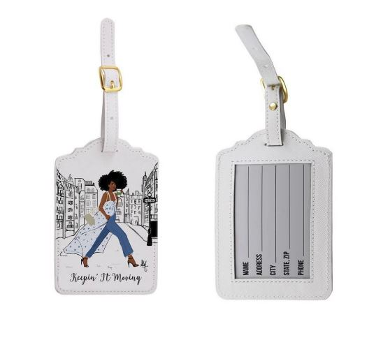 Keepin It Moving - luggage tags (set of 2)