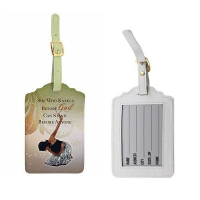 She Who Kneels - luggage tags (set of 2)