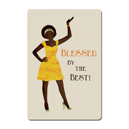 Blessed by the Best - magnet