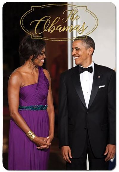 The Obamas - magnet - M237