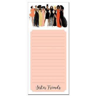 Sister Friends - magnetic notepad