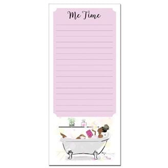 Me Time - magnetic notepad