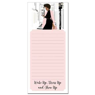 Magnetic Notepad - Wake Up Dress Up