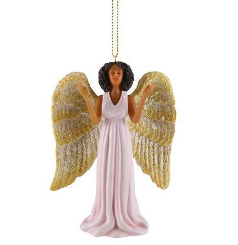 Pink Angel - Christmas ornament