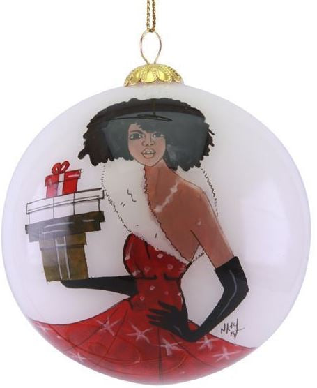Fabulous - glass Christmas ornament