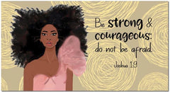 Be Strong and Courageous - 2020-21 pocket calendar