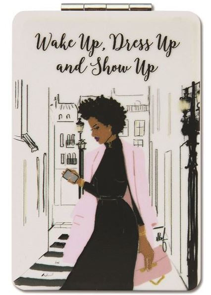 Wake Up Dress Up - compact mirror