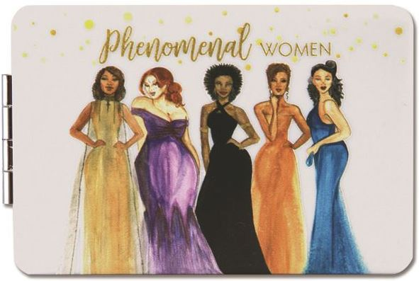 Phenomenal Women - compact mirror