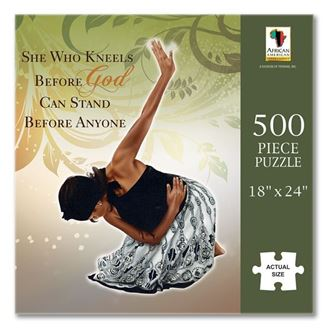 She Who Kneels - 500 piece jigsaw puzzle