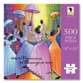 When Praises Go Up - 500 piece jigsaw puzzle