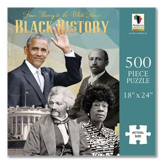 From Slavery to the White House -  jigsaw puzzle - PUZ-17