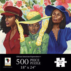 Sunday Morning - 500 piece jigsaw puzzle