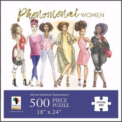 Phenomenal Women - 500 piece jigsaw puzzle