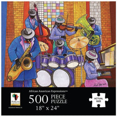 All That Jazz - 500 piece jigsaw puzzle