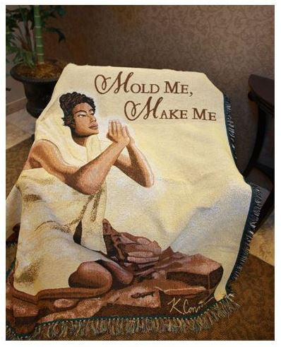 Mold Me Make Me - tapestry throw