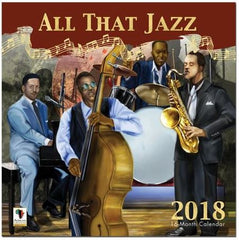 All That Jazz - 2018 African American calendar
