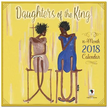 Daughters of the King - 2018 African American calendar