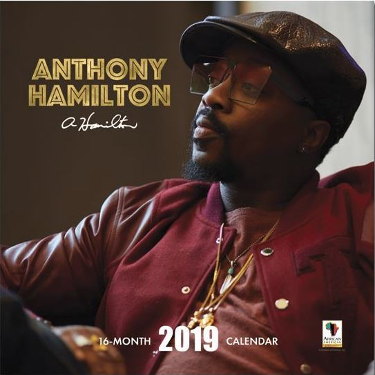 Anthony Hamilton - 2019 wall calendar