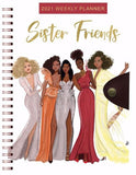 Sister Friends - 2021 weekly planner