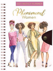 Phenomenal Women - 2021 weekly planner