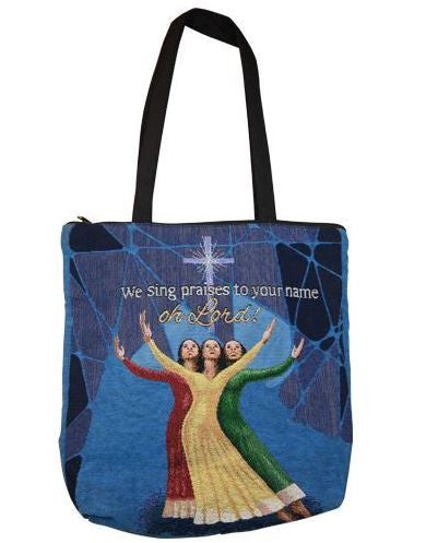 We Sing Praises To Your Name - tote bag