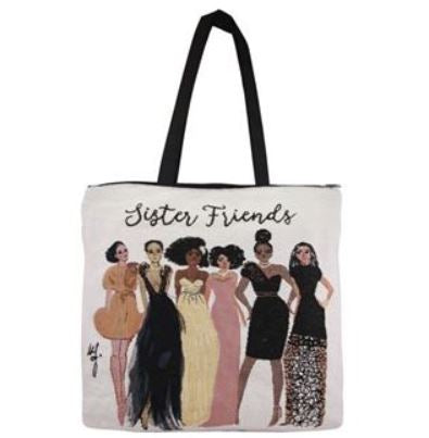 Sister Friends - tote bag
