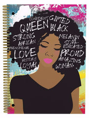 African American notebooks - self love - set of three