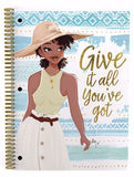 African American notebooks - sister friends - set of three