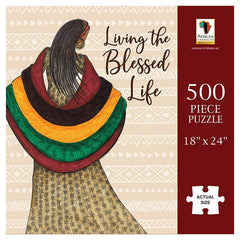 Living The Blessed Life - 500 piece jigsaw puzzle