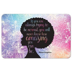 Amazing Quote - shower mat