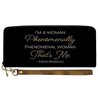 Phenomenal Woman - wallet