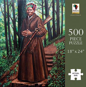 Harriet Tubman - 500 piece jigsaw puzzle - PUZ-21