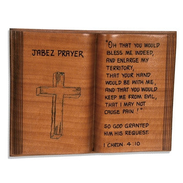 Jabez Prayer - wooden plaque