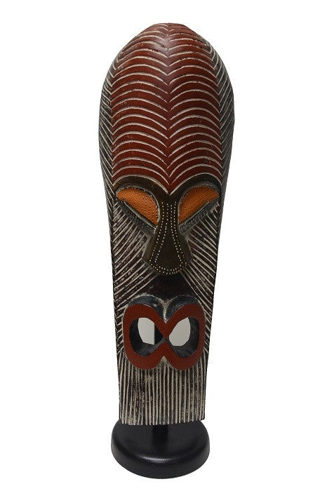 Tutu Standing Mask wood carving
