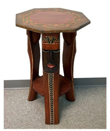 Octagon Mask - table