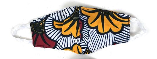 Face Mask - African Print - 02