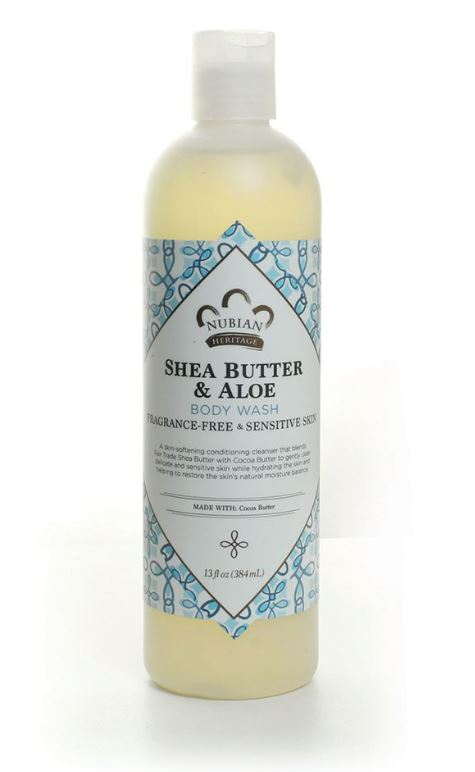 Shea Butter and Aloe Vera body wash