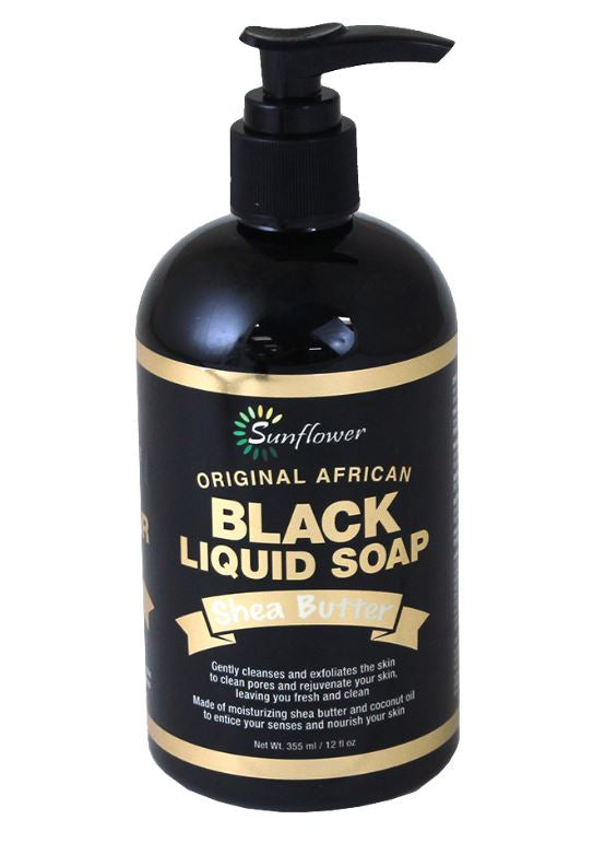Liquid Black Soap pump dispenser