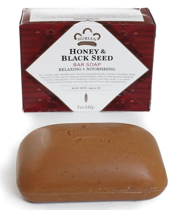 Honey and Black Seed - soap