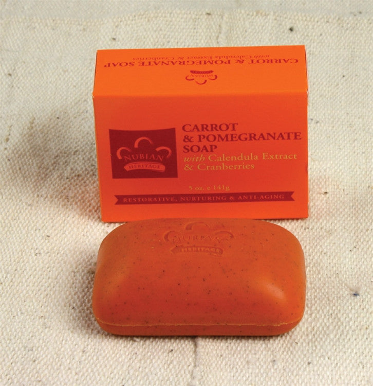 Carrot and Pomegranate - soap