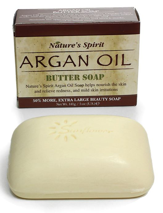 Argan Oil and Shea Butter soap