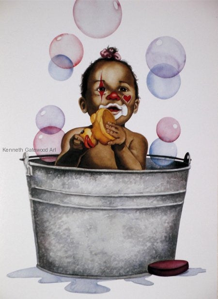 Bubbles - 19x16 print - Kenneth Gatewood