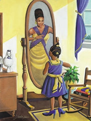 Every Little Girls Dreams Sigma Gamma Rho - 18x24 - print - Lester Kern
