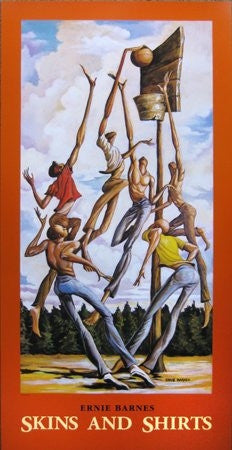 Skins and Shirts - 37x18 poster - Ernie Barnes