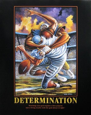 Determination - 30x24 poster - Ernie Barnes