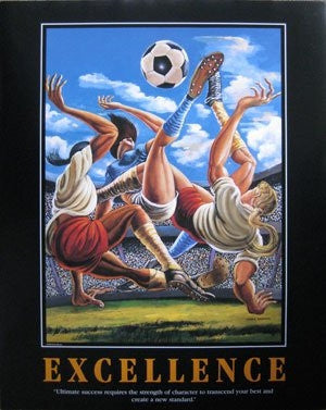 Excellence - 30x24 poster - Ernie Barnes