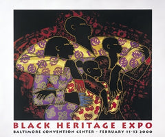 Black Heritage Expo The Reason For Being 20x24 print - Larry Poncho Brown