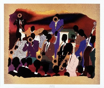 Big Band - 22x26 - print - Leroy Campbell