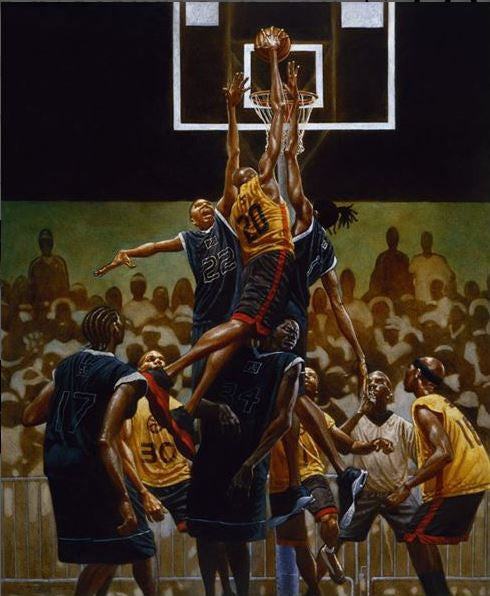 The Rucker - 24x30 print - Kadir Nelson